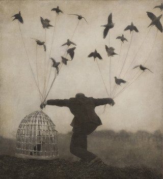 Flying Lesson, 2000, by Robert and Shana ParkeHarrison