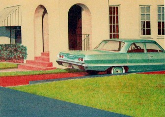 Robert Bechtle '63 Bel Air art for sale