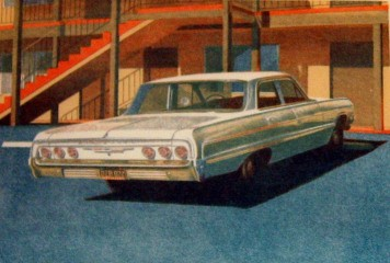 Robert Bechtle '64 Impala art for sale