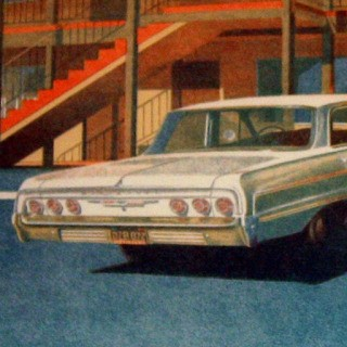 '64 Impala art for sale