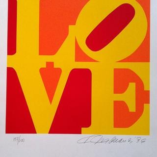 Book of Love, #1 (Red, Orange, Yellow) art for sale