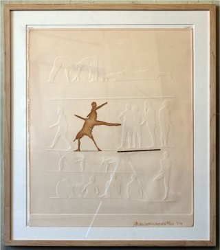 Robert Rauschenberg Cunningham Relief art for sale