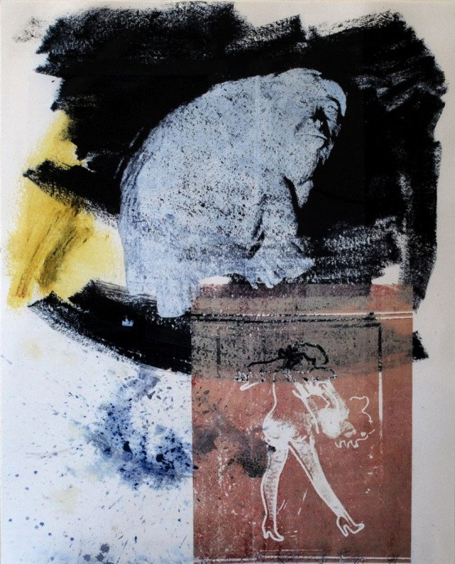 Robert Rauschenberg, Poise