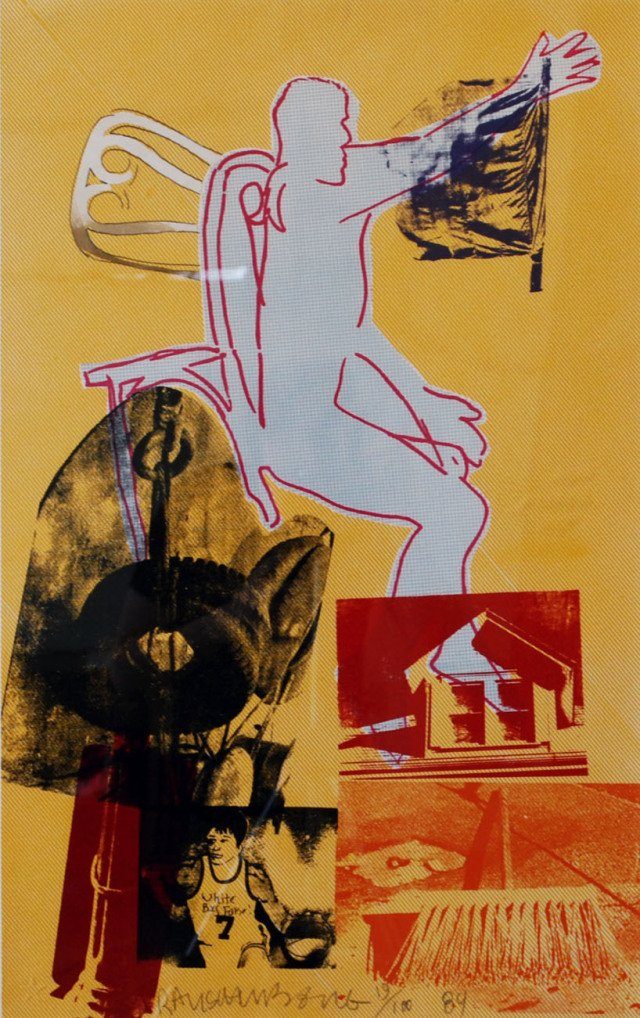 Robert Rauschenberg, Portrait of Merce
