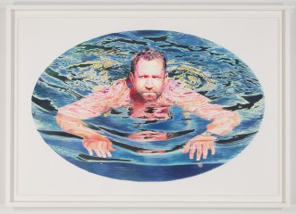 Robin F. Williams Man Treading art for sale