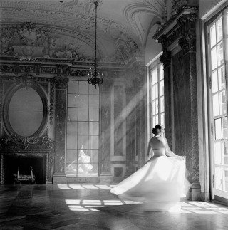 Rodney Smith Bernadette Twirling, Burden Mansion, NY art for sale