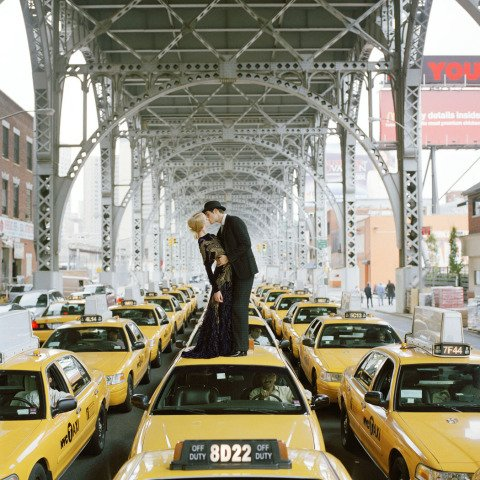 Rodney Smith, Edythe and Andrew Kissing, NY
