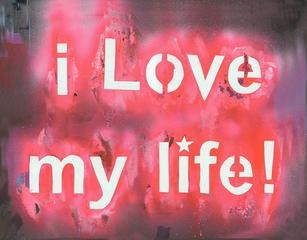 Rona Yefman I Love My Life art for sale
