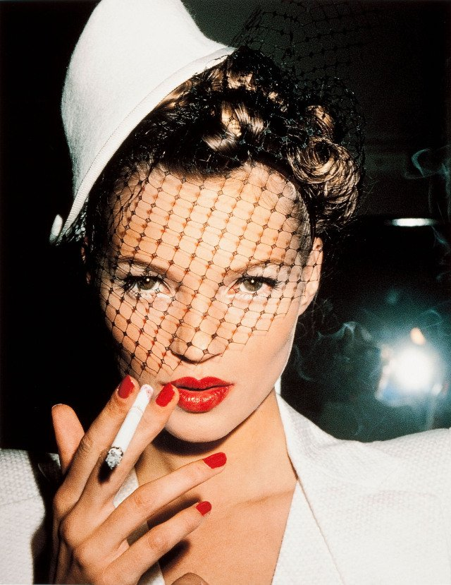 Roxanne Lowit, Kate Moss with Fag, Paris