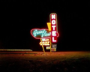 Grandview Motel, Raton, New Mexico, by <a href='/site-admin/artists/artist/1235'>Steve Fitch</a>