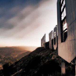 Behind the Hollywood Sign 110 art for sale