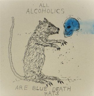 Terry Allen All Alcoholics art for sale