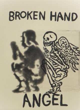 Terry Allen Broken Hand Angel art for sale