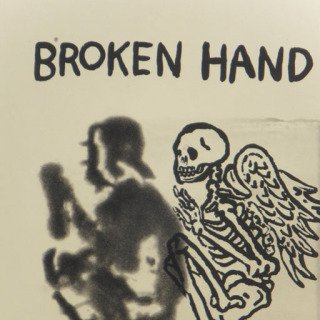 Broken Hand Angel art for sale