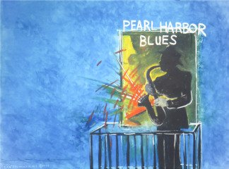 Terry Allen Pearl Harbor Blues art for sale
