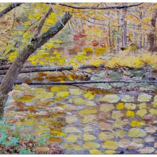 Autumn River art for sale