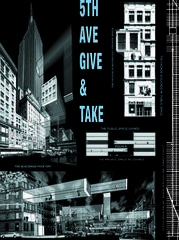 5th Ave Give & Take, by Vito Acconci