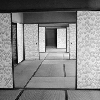 Werner Bischof, Kyoto. Katsura Palace, an old Imperial villa. 1951.