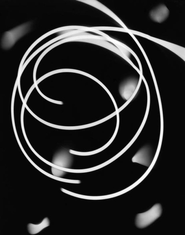 Werner Bischof, Zurich. 1941. Photogram 3 