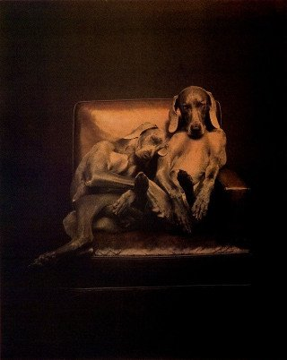 Best Buddies, by William Wegman