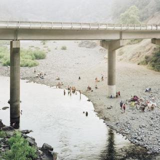 Youngsuk Suh, Bathers Under Bridge